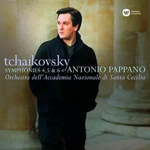 CD/アントニオ・パッパーノ/ローマ・サンタ・チェチーリア国立アカデミー管弦楽団/チャイコフスキー:交響曲第4番、第5番&第6番「悲愴」