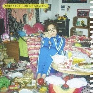 CD/小野恵令奈/君があの日笑っていた意味を。 (DVD付) (初回限定盤A/表えれ盤)