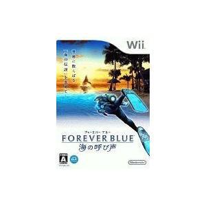 中古Wiiソフト フォーエバーブルー 海の呼び声(状態:説明書欠品)