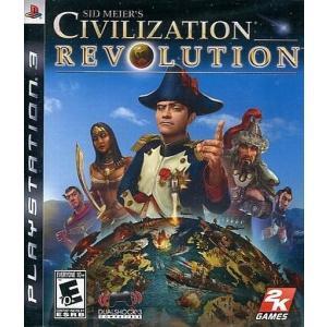 中古PS3ソフト 北米版 Sid Meier's Civilization Revolution(国内使用可)