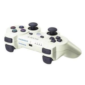 中古PS3ハード ワイヤレスコントローラDUALSHOCK3 クラシック・ホワイト