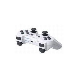 中古PS3ハード ワイヤレスコントローラDUALSHOCK3 セラミック・ホワイト(状態:本体状態難...
