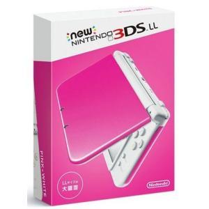 新品ニンテンドー3DSハード Newニンテンドー3DSLL本体 ピンク×ホワイト suruga-ya