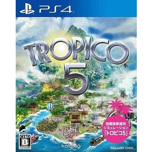 中古PS4ソフト トロピコ5