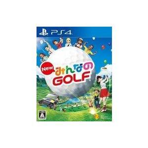 中古PS4ソフト NewみんなのGOLF