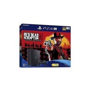 新品PS4ハード プレイステーション4 Pro本体 レッド・デッド・リデンプション2 パック