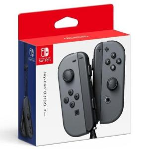 新品ニンテンドースイッチハード Nintendo Switchコントローラー Joy-Con(L)/(R) グレー|suruga-ya