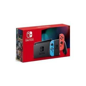 新品ニンテンドースイッチハード Nintendo Switch本体/Joy-Con(L) ネオンブル...
