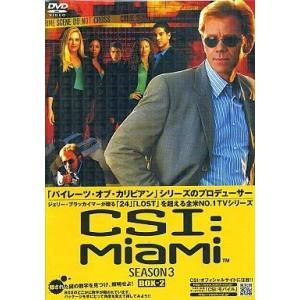 中古海外TVドラマDVD CSI:マイアミ3  コンプリートBOX2