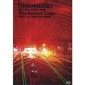 中古洋楽DVD 東方神起 / 4th LIVE TOUR 2009 -The Secret Code-FINAL in|suruga-ya