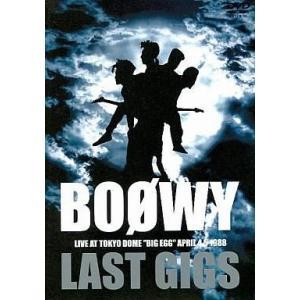 中古邦楽DVD BOOWY / LAST GIGS 東京ドー...