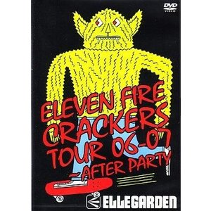 中古邦楽DVD ELLEGARDEN / ELEVEN FIRE CRACKRS TOUR 06-07 〜AFTER PARTY|suruga-ya