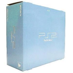 中古PS2ハード プレイステーション2本体 AQUA(SCPH-39000AQ)
