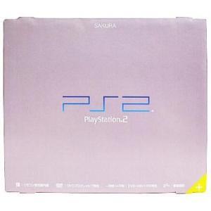 中古PS2ハード プレイステーション2本体 SAKURA(SCPH-50000SA)