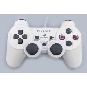中古PS2ハード アナログコントローラ (DUALSHOCK 2) セラミック・ホワイト (状態:本...