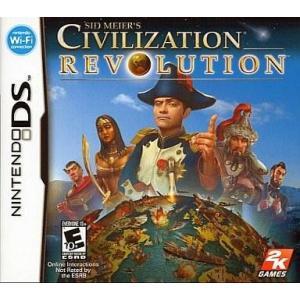 中古ニンテンドーDSソフト 北米版 SID MEIER'S CIVILIZATION REVOLUTION (国内使用可)