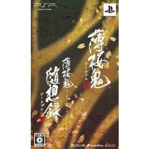 中古PSPソフト 薄桜鬼 ポータブル ツインパック