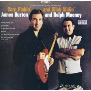 中古輸入洋楽CD JAMES BURTON & RALPH MOONEY / CORN PICKIN' AND SLICK SLID suruga-ya