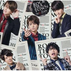 中古邦楽CD Sexy Zone / ROCK THA TOWN[DVD付初回限定盤B] suruga-ya