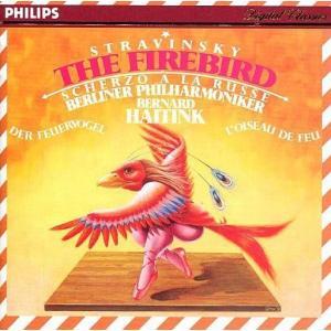 中古クラシックCD ベルナルト・ハイティンク(指揮) / ストラヴィンスキー:「火の鳥」「ロシア風スケルツォ」|suruga-ya