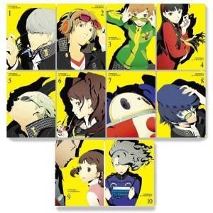 中古アニメBlu-ray Disc ペルソナ4 完全生産限定版 全10巻セット