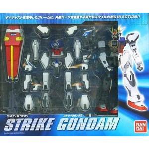 中古フィギュア MS IN ACTION!! GAT-X105 ストライクガンダム 「機動戦士ガンダムSEED」