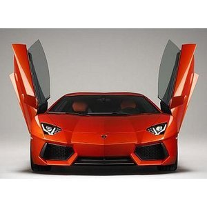 新品プラモデル 1/24 ランボルギーニ アヴェンタドール LP700-4 「スーパーカーシリーズ No.7」 [001424]|suruga-ya