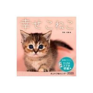 新品カレンダー 幸せこねこ 2020年度ましかく子猫カレンダー