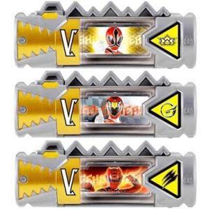 中古おもちゃ スーパー戦隊獣電池セット02 「レジェンド戦隊」