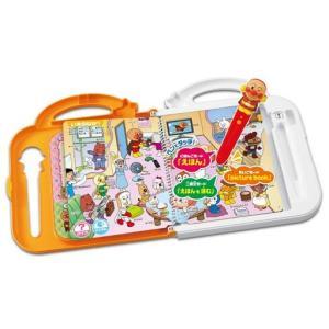 新品おもちゃ にほんご えいご 二語文も! アンパンマン おしゃべりいっぱい!ことばずかんSuperDX 「それいけ!ア|suruga-ya