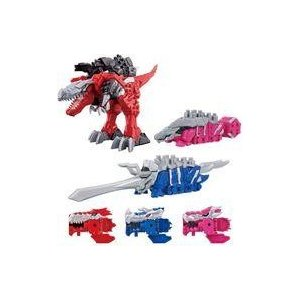 新品おもちゃ 騎士竜シリーズ01&02&03 竜装合体 DXキシリュウオースリーナイツセット 「騎士...