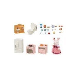 セ-203 商品解説■ショコラウサギのお母さん人形と、動くしかけつきの家具のセットです。 それぞれの...