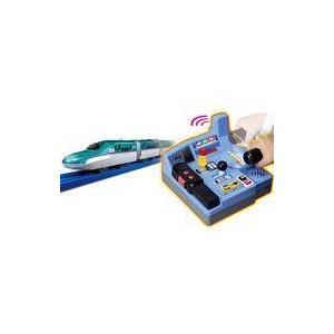 新品おもちゃ プラレール 乗車確認!出発進行!まるごと鉄道体験!E5系はやぶさコントロールセット|suruga-ya