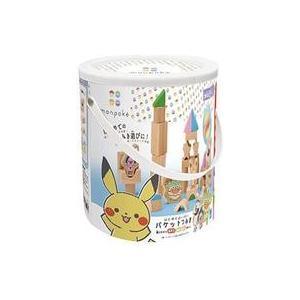 新品知育・幼児玩具 monpoke -モンポケ- はじめてのバケットつみき 「ポケットモンスター」