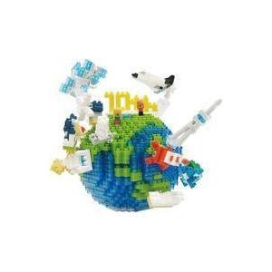 中古おもちゃ ナノブロック NBM-028 地球