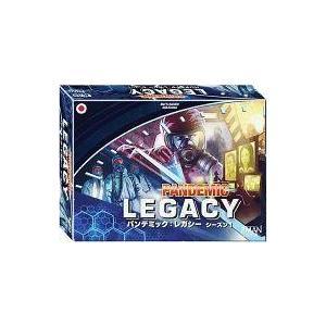 新品ボードゲーム パンデミック:レガシー シーズン1 青箱 日本語版 (Pandemic Legacy)|suruga-ya