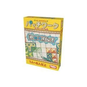 新品ボードゲーム パッチワーク:ドゥードゥル 日本語版 (Patchwork Doodle)