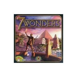 中古ボードゲーム [付属品欠品] 世界の七不思議 多言語版 (7 Wonders)