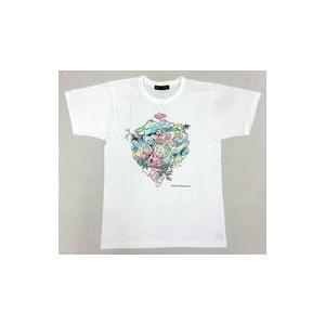 中古Tシャツ(男性アイドル) 大野智(嵐)デザイン チャリTシャツ ホワイト 120サイズ 「24時...