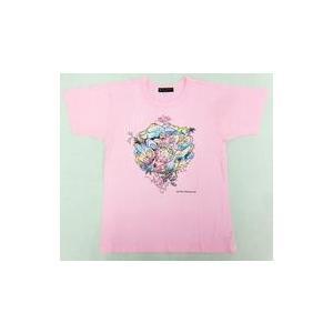 中古Tシャツ(男性アイドル) 大野智(嵐)デザイン チャリTシャツ ピンク 120サイズ 「24時間...