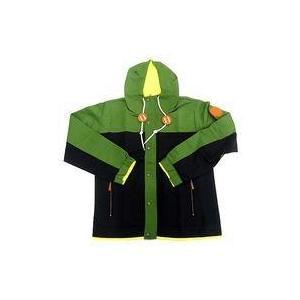 中古アウターウェア キャラクター 国木田花丸 Aqoursマウンテンパーカー グリーン×ブラック L-XLサイズ 「ラの商品画像|ナビ