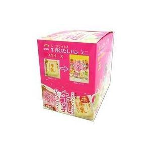 新品スクイーズ(食品系【ボックス】復刻版 牛乳ひたしパン ミニ スクイーズ マスコット suruga-ya