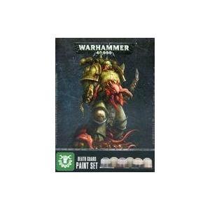 新品ミニチュアゲーム デスガード・ペイントセット 「ウォーハンマー40.000」 (Death Guard Paint Set) [|suruga-ya