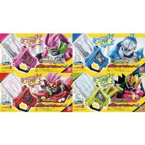 中古食玩 おもちゃ 全4種セット 「仮面ライダーエグゼイド サウンドライダーガシャットシリーズ SGライダーガシャット
