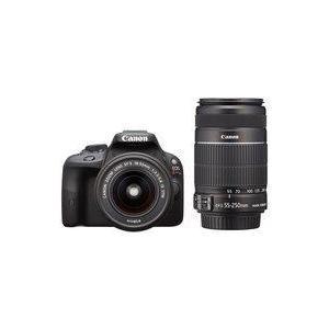 中古カメラ Canon デジタル一眼レフカメラ EOS Kiss X7 ダブルズームキット (ブラック) [KISSX7-WK|suruga-ya