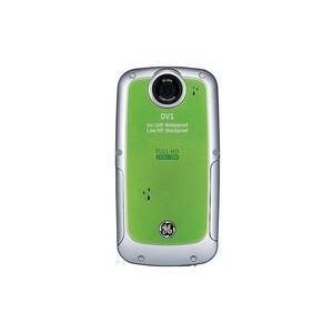 中古カメラ GE デジタルビデオカメラ DV1 508万画素 (グリーン) (状態:本体・説明書・CD-ROMのみ)|suruga-ya