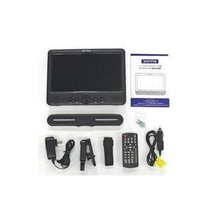 中古DVDプレイヤー WONNIE 10型 DVDプレーヤー内蔵ヘッドレストモニター (1台モデル) [W-JP1011BK] (状態:箱・|suruga-ya