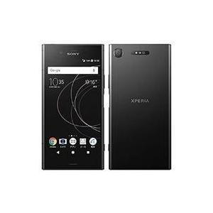 中古携帯電話 スマートフォン Xperia XZ1 701SO (ブラック) [SOSAH1] (状態:本体状態難)|suruga-ya