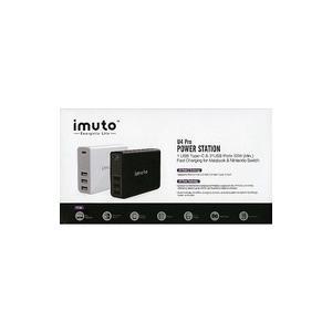 新品その他家電 USB充電器 TYPE-Cケーブル対応 急速充電 スマホ充電器 iMuto U4 Pro|suruga-ya