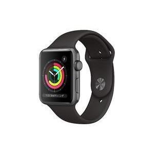 中古スマートウォッチ Apple Watch Series 3 42mm (スペースグレイ/ブラックスポーツ) [MTF32J/A]|suruga-ya